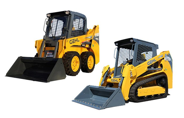 Skid Steers / Track Loaders For Rent